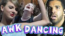 4 MOST AWKWARD CELEBRITY DANCERS (Debatable)