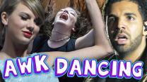 4 MOST AWKWARD CELEBRITY DANCERS (Debatable)