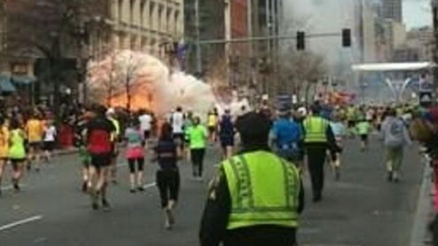 Boston Marathon Witness 'Could Feel the Ground Shake'