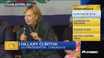 CNBC update: Clinton speaks out on drug overdoses