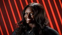 Aja Evans questioned her own ability to compete in bobsled