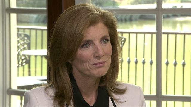 Caroline Kennedy on living up to a legacy