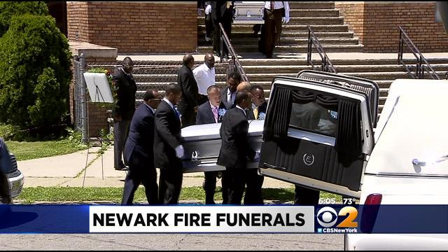 Funeral Held For Family Members Killed In Father's Day Blaze
