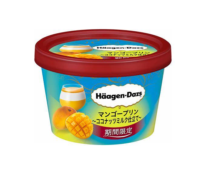 日本哈根達斯 芒果布丁與椰奶