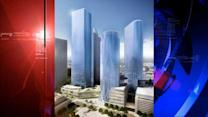 New skyscraper going up in downtown Houston