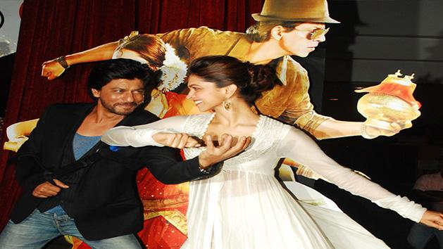 First Look Chennai Express with Shahrukh Khan Deepika Padukone Rohit Shetty
