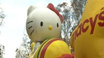 Raw: Macy's Thanksgiving Day parade balloons