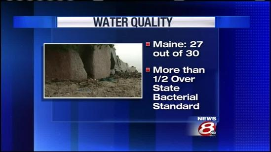 Many Maine beaches don't meet water quality standard