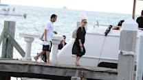 French Montana and Khloe Kardashian Vacation in the Florida Keys