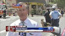 David Henry reports from collapse scene