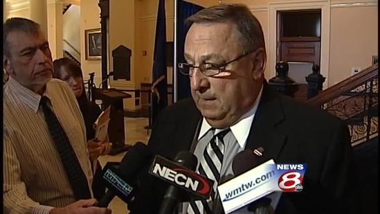 Uncut: Gov. LePage apologizes for