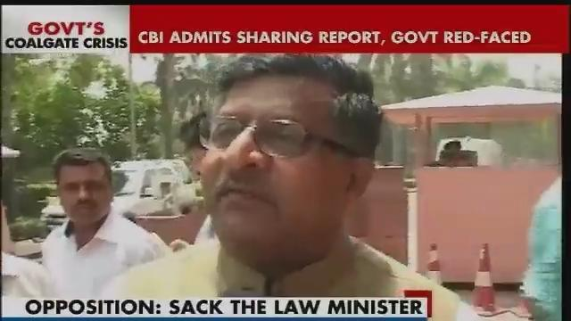 BJP reacts to CBI admitting it shared coal scam report with govt Part-1