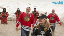 Vince Vaughn, Lady Gaga Swim in Freezing Cold Water for Polar Plunge Event