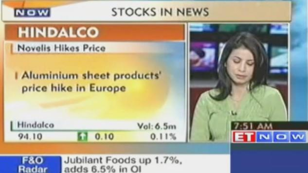 Stocks in news Cairn India, Hindalco, Tata Tele