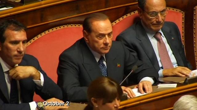 Senate panel votes to expel Berlusconi