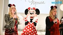 Georgia May Jagger Transforms Into a Modern Minnie Mouse for LFW