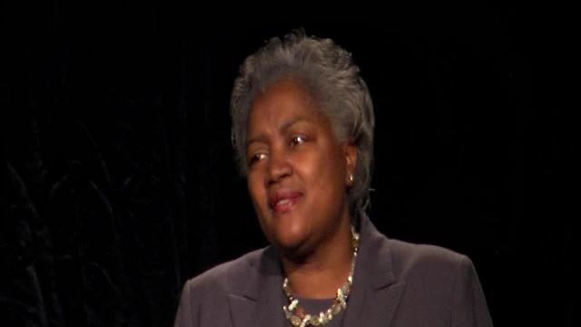 Donna Brazile speaks at Cleveland Clinic's annual MLK breakfast.