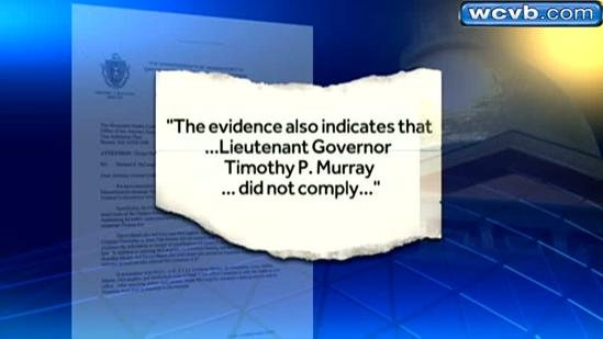 Lt. Gov. Tim Murray charged with campaign finance violation