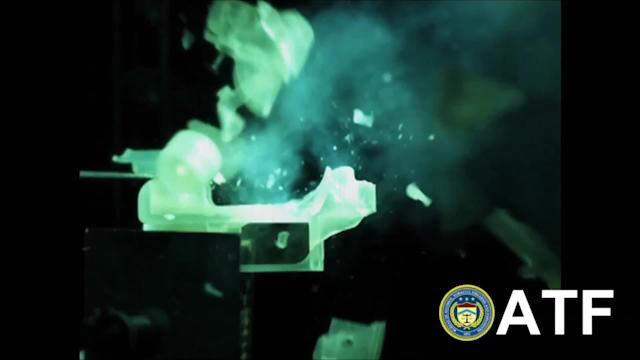3D-printed firearm 'could penetrate human skull'