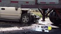 Head-on collision kills 1, injures another in Fresno Co.
