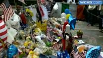 Memorial for bombing victims grows in Back Bay