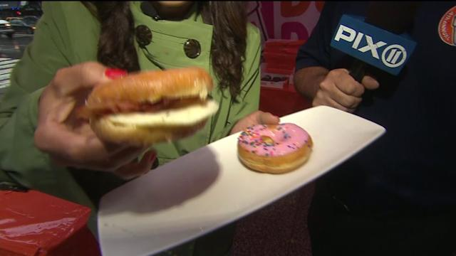New Sandwich Shines on National Donut Day