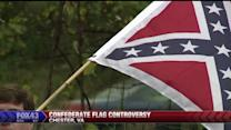 Reactions to Confederate Flag Flying Over Highway