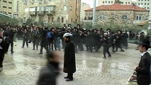 Ultra-Orthodox Jews protest in Israel after losing stipends