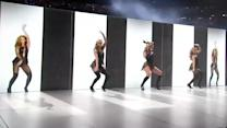 Beyonce gets the hologram treatment at Super Bowl XLVII