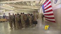 More than 60 Fort Brag soldiers return home Monday