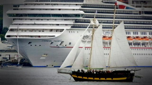 Cruise Ship Stranded Without Power in Gulf of Mexico