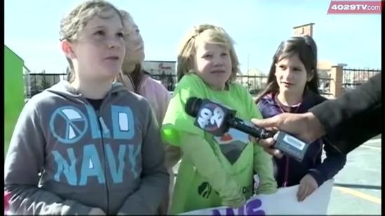 Local Girl Scout Troops sell cookies