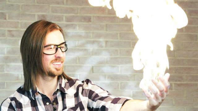 Create A Propane Fire Bubble