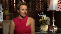 "Rachel McAdams on romance in ""About Time"""