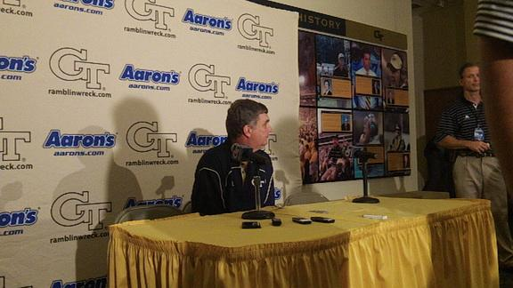 Paul Johnson press conference 9/11/12