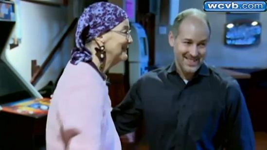 Anonymous donor meets woman whose life he saved