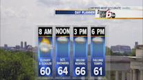 Thursday's Forecast: Temps begin to tumble