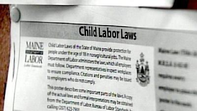 Controversy Continues Over Child Labor Laws