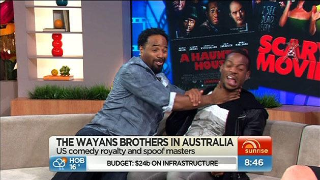Craziness with the Wayans brothers