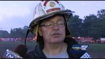 Fire Chief discusses game farm fire