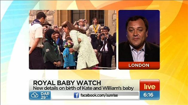 New details on royal baby birth