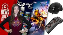 Steam Accounts Hacked + Official PS4 Keyboard & Mouse! - GS Daily News