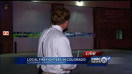 Local firefighters help battle Colorado wildfires