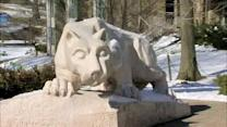 Penn State campus reacts to Paterno report