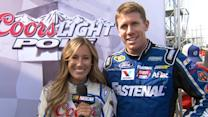 Out Front with Miss Coors Light: Quicken Loans 400