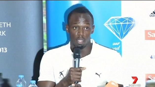 Usain Bolt insists he is clean