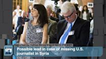Syria News - James Foley, Bashar Assad, Middle East
