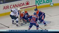 Maxim Lapierre steals and scores on Bryzgalov