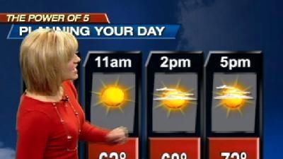 Temperatures Fall Fast This Weekend