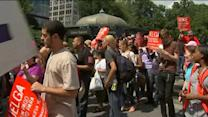 Fast Food Workers Striking in More Than 50 Cities